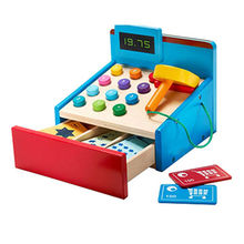 Baby wooden mini cash register from China (mainland)