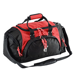 China Gym Duffel Bags with Large Opening, Suitable for Sports, U Shape Zipper Closure