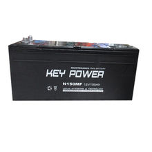 12V/150Ah rechargeable vehicle automotive battery