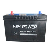 12V/90Ah Maintenance Free Rechargeable Car Battery from China (mainland)