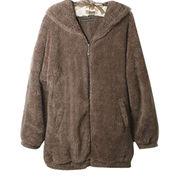 Ladies' cute full zip hoodies from China (mainland)