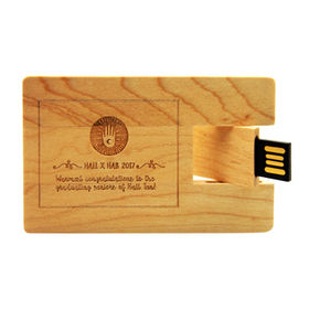 Wooden Card USB Drive from China (mainland)