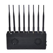 8 Bands Signal Jammer, 2/3/4G Cellphone Handheld