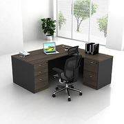 China Elm color laminated office table