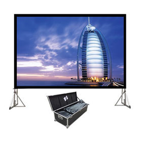 China Fast-Fold Mini Projection Screen with Carrying Case Screen