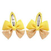 Cute Mix Color Ribbon Bow Hairpins from China (mainland)