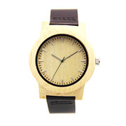 Wooden watch from China (mainland)