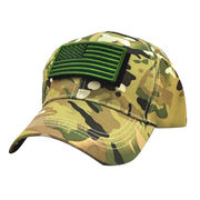 Embroidered camouflage baseball caps from China (mainland)