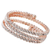Stylish Multilayer Diamante Bangles from China (mainland)