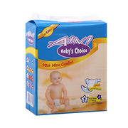 Super soft and tender disposable baby diapers