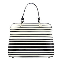 Stripe Trend Ladies Handbag Zebronic PU Bag WZX1049