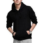 Men's Fashion Plus Size Fleece Hoodies Casual Swea from China (mainland)