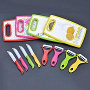 3 pcs ceramic kitchen knife set from China (mainland)