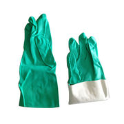 Green Nitrile Dish Household Gloves from China (mainland)
