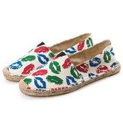Women's Plush Americana Flat Women's Casual Shoes from China (mainland)
