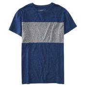 Men's Heathered Block Tee Shirt from China (mainland)