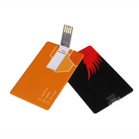 Business Card USB Flash Drive from China (mainland)