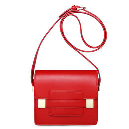 Mini fashion trends red PU ladies shoulder bag from China (mainland)