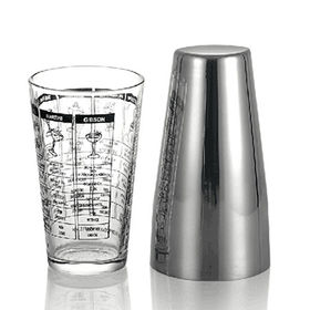 China Boston Cocktail Shaker, 800mL, Customized Logos are Welcome