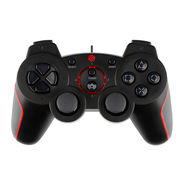 China High-quality Wired Joypads for PS3, with Double Shock
