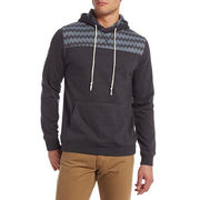 Men's Zig Zag Printed Pullover Hoodie from China (mainland)