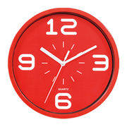 Novelty home decor small plastic wall clocks from China (mainland)