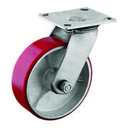 TPU covered cast iron core casters from China (mainland)