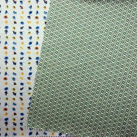 China Printed twill fabric