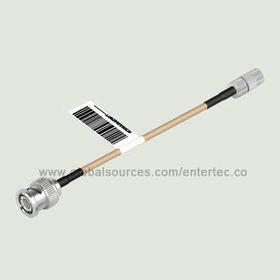 Coaxial Compression Connector and RF Cable Assembly with 1.0/2.3 Male S/T Plug to Male BNC S/T Plug from EnterTec Technology Inc.