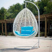 China Outdoor Rattan Hanging Egg Chair