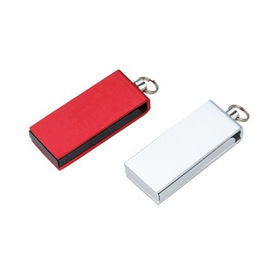 Promotional Mini USB Flash Drive, Customized Logos are Accepted from Memorising Tech Limited