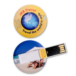 Promotional Credit Card USB Flash Drive, Full Colour Printing from Memorising Tech Limited