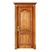 new design interior solid wooden doors from China (mainland)