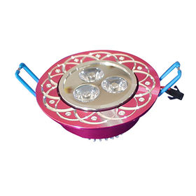 AC85-265 3W LED white ceiling lights from China (mainland)