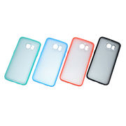 China Hybrid Phone Case for Samsung S6/S6 Edge, Customized Logos/Colors are Accepted