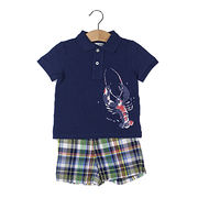 Boy's Short-sleeved Polo Set from Hong Kong SAR