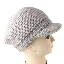Ladies fashionable knitted hats with 100% acrylic from Hangzhou Willing Textile Co. Ltd