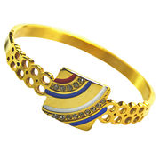 Stainless steel bracelet charm bangles from China (mainland)