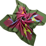 Women's silk scarf from China (mainland)