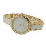 Diamond ladies' bracelet metal watches, fashion
