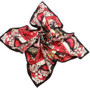 Women's customized silk scarf from China (mainland)