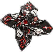 Women's customized silk scarf from China (mainland)