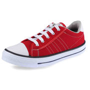 Low Ankle Casual Canvas PVC Injected Shoes from India