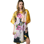 Women's custom-made 100% silk dress from China (mainland)