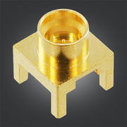 RF SMP Connector, Male Contact Straight Plug for PCB Mount