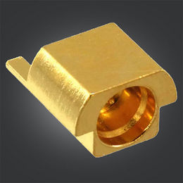 SMP Male PCB Connector, SMP Male Straight Plug for PCB Mount, SMP with Horizontal Pin