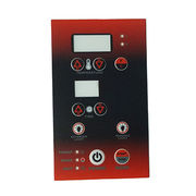 China Membrane graphic overlay control panel