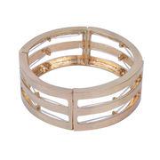 Zinc alloy gold bracelet from China (mainland)