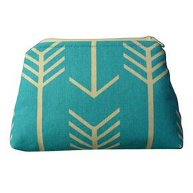 Cotton cosmetic bags from India