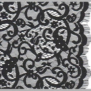 Black Eyelash Fabric from China (mainland)